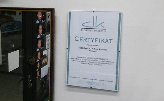 certyfikacja dla fotorondo, profile ICC