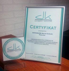 certyfiakcja, certyfikację, certyfikowane, fotografik